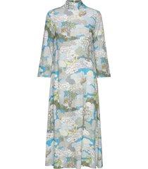dean, 843 dreamscape viscose jurk knielengte multi/patroon stine goya