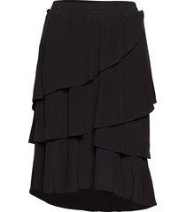 nini skirt knälång kjol svart designers, remix