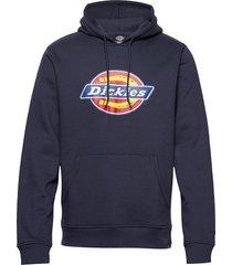 san antonio hoodie trui blauw dickies