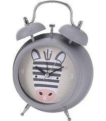 zegar stojący budzik dla dzieci zebra
