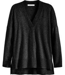 plus size women's adyson parker v-neck tunic, size 2x - black