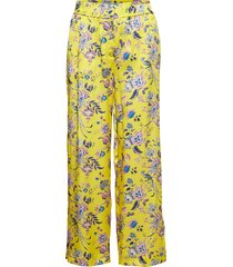 leora liberty trousers pyjamabroek joggingbroek geel morris lady