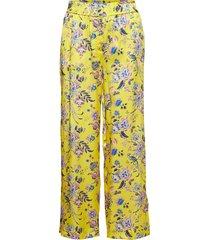 leora liberty trousers pyjamabroek joggingbroek geel morris lady