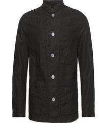 hannu shirt jacket överskjorta svart oscar jacobson