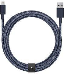 belt braided 3m lightning charging cable - indigo