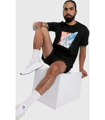 camiseta negro-multicolor adidas performance d.o.n. issue #2 geek up jump tee