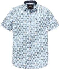 overhemd bellman stripe wit / blauw