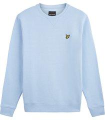 lyle and scott crew neck sweatshirt licht blauw