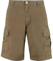 woolrich cotton cargo bermuda shorts