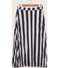 falda azul-blanco patprimo