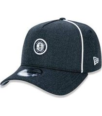 bone 940 brooklyn nets nba aba curva snapback new era