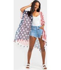 betsy americana kimono - multi