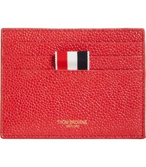 men's thom browne leather card holder - (nordstrom exclusive)