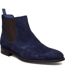 travics stövletter chelsea boot blå ted baker