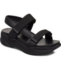 lori shoes summer shoes flat sandals svart vagabond