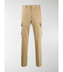 burberry twill cargo trousers