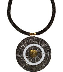 kendi amani karani beaded necklace