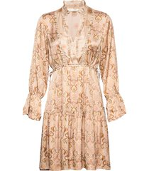 brilliant & brave short dress kort klänning beige odd molly