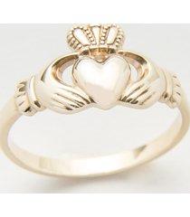 10 karat gold maids claddagh ring size 7.5