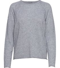 cualaia pullover stickad tröja grå culture