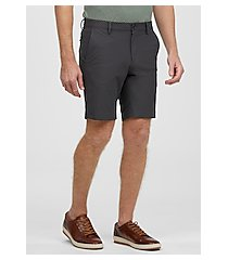 traveler collection tailored fit flat front shorts by jos. a. bank