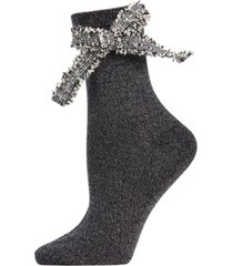 glitter dream bow anklet socks