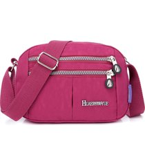 crossbody multitasche donna borsa impermeabile nylon borsa