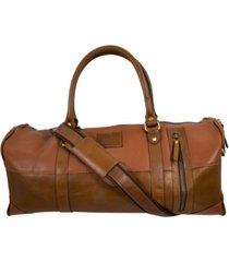 florsheim leather mini duffle bag