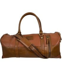 florsheim leather mini duffle bag