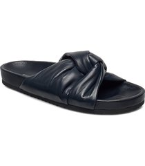 brea sandal shoes summer shoes flat sandals blå filippa k