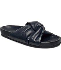 brea sandal shoes summer shoes flat sandals blå filippa k