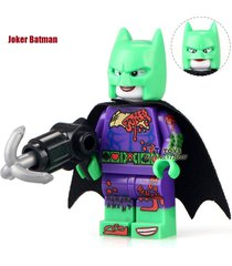 1 pcs joker suit batman dc super hero minifigure building blocks bricks toys