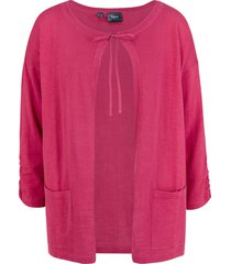 cardigan in jersey (fucsia) - bpc bonprix collection