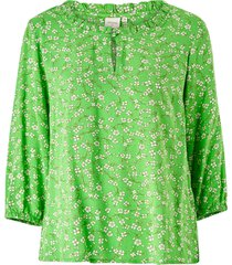 blus daisycr blouse