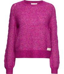 cool with wool sweater gebreide trui roze odd molly