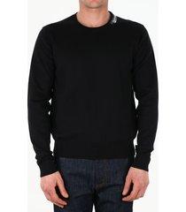 dolce & gabbana black logo pullover