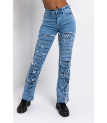 akira damsel in distressed relaxed high waisted jeans