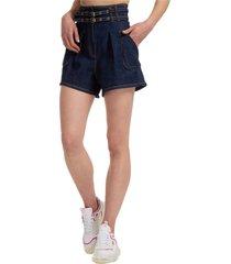 pantaloncini corti shorts donna jeans denim bermuda camille