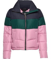 fashion puffer jacket fodrad jacka rosa hollister