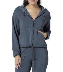 soothe half-zip hoodie