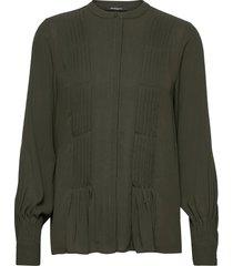 camilla may shirt blouse lange mouwen groen bruuns bazaar