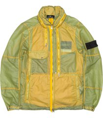 stone island shadow project yellow jacket field