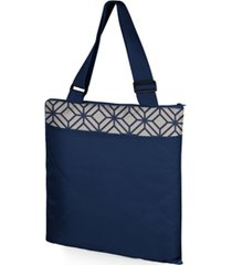 oniva by picnic time vista xl outdoor picnic blanket & tote