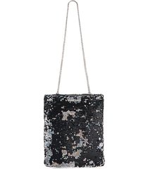 sequin chain shoulder bag