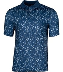 cutter & buck men's forge particle print polo shirt