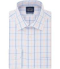 eagle men's classic-fit windowpane dress shirt