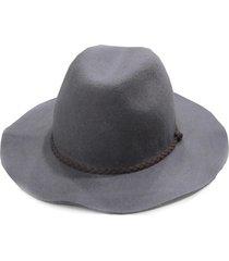 sombrero de fieltro gris fight for your right moss