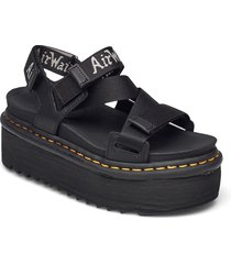 kimber shoes summer shoes flat sandals svart dr. martens