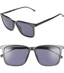 boss 1086/s 56mm sunglasses in blue at nordstrom