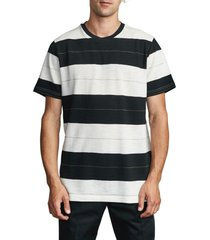 men's rvca rumble stripe t-shirt